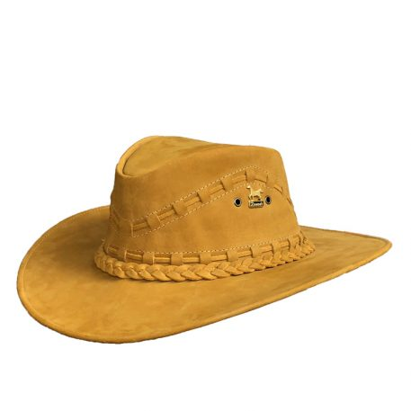 Western Leather Cowboy Hat
