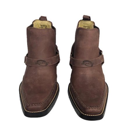 Men's Low Cut Boot in Camel Fossil