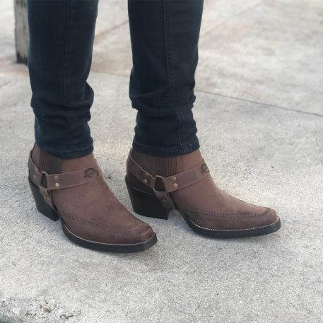 Montana Ankle Harness Boot for Mnen
