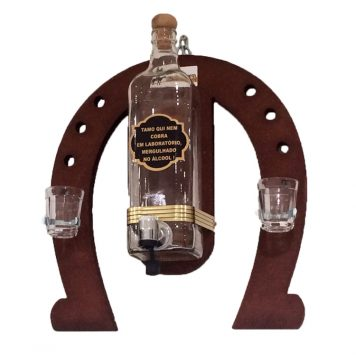 Horseshoe Liquor Dispenser