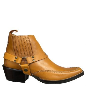Brunello's Montana Harness Boot in Latigo