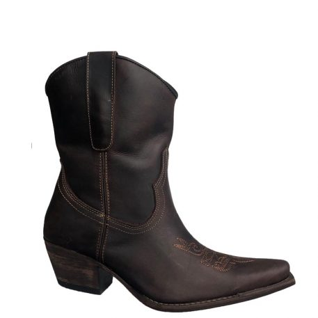 Mid Calf Cowgirl Boots by Brunello's