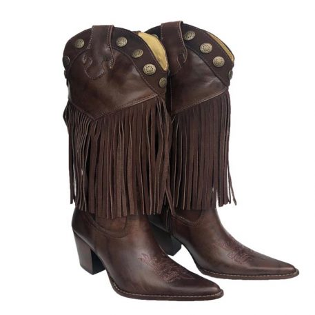 Cowgirl Fringe Boots