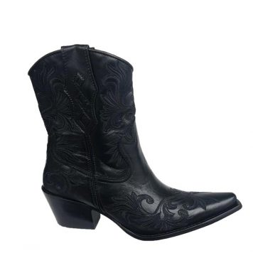Black Cowboy Boots for Women
